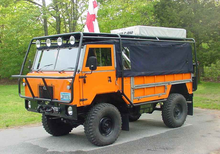 Land Rover 101FC / Overland Adventure