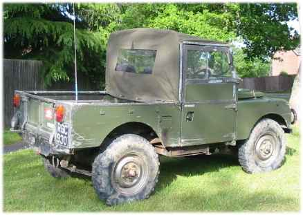 "Land Rover 80"" Truck Cab"