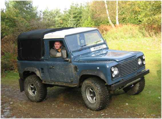 "Land Rover 90"" 3/4 Defender"