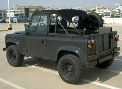 "Land Rover 90"" truck cab"
