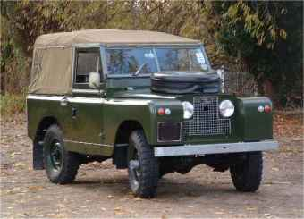 Land Rover 110 County Station + Mohair Soft-top