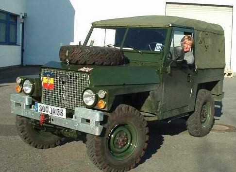 Land Rover 88 Light Weight FFR
