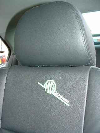 MG Headrest