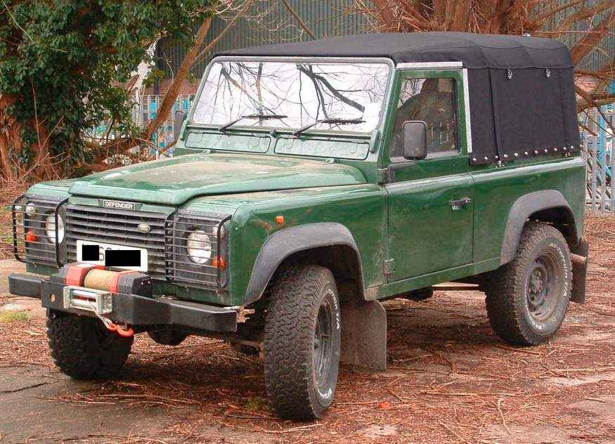 "Land Rover 90"" SV Style"