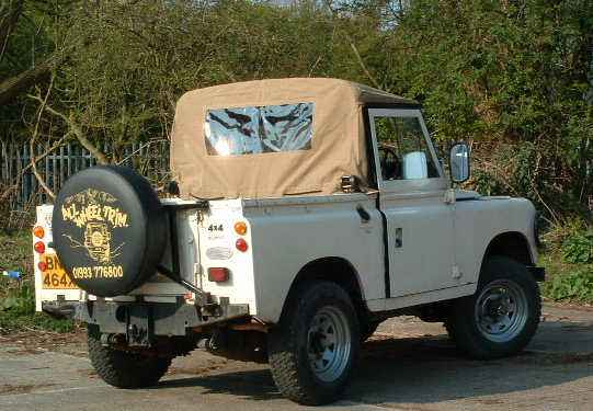 "Land Rover 88"" Truck Cab"