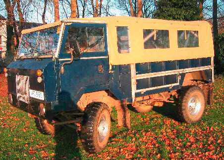 Land Rover 101FC full sand with side windows