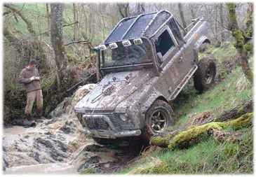 "Land Rover 90"" extended Truck Cab"