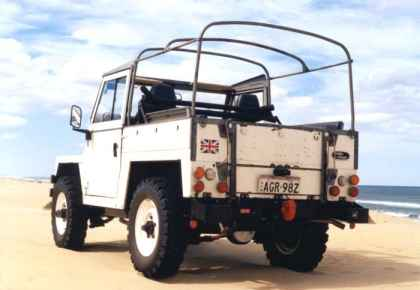 Land Rover frame kits / thanks to Philip in Oz for this picture