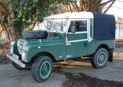 Series-1 Land Rover 86""