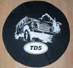 Land Rover 90 TD5 Wheelcover