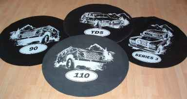 Land Rover Wheelcovers