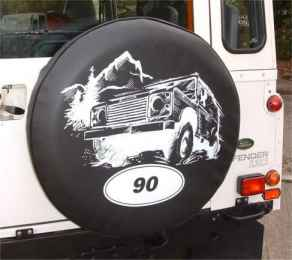 Land Rover 90 Wheelcover