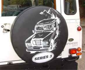 Land Rover S3 Wheelcover