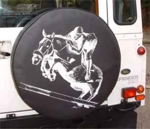 Horsejumper Wheelcover