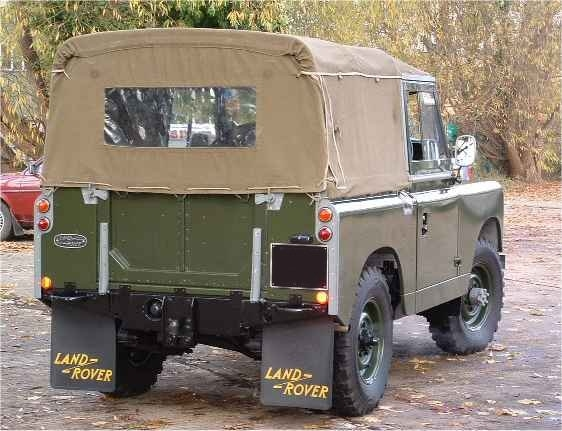 Land Rover 88 full khaki plain series 2A